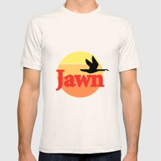Wawa Jawn Mens Fitted Tee Natural SMALL