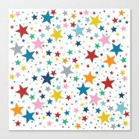 Stars Multi Canvas Print