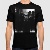 As The City Awakens Mens Fitted Tee Black SMALL