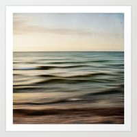 Sea Square I Art Print