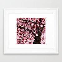 :: Pink Canopy :: Framed Art Print