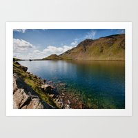 Levers Water Art Print