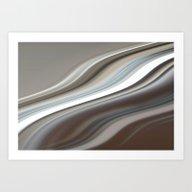 Abstract Wave  Art Print