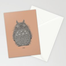 Peach Totoro Stationery Cards