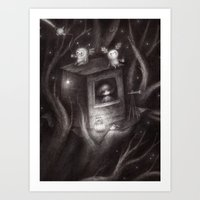 Star Belly And The Big C… Art Print