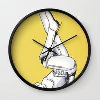 Trooper Pinup Wall Clock