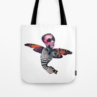 ZEBRA FLY Tote Bag