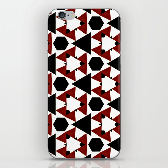Van Steensel Pattern iPhone & iPod Skin
