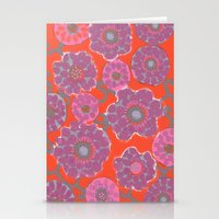 Stationery Card featuring Arabesque by Pink Pagoda Studio / Barbara Perrine Chu
