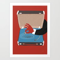 Vintage Whirl Pool Art Print