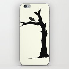 The Little Owl In The Tree iPhone & iPod Skin