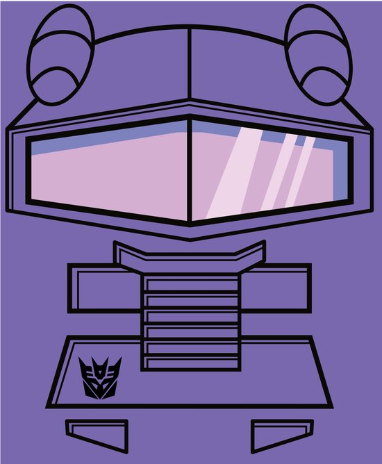 Transformers - Shockwave Art Print