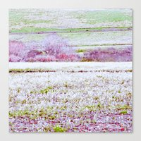 Flower Landscape Canvas Print