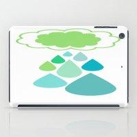 Rain Cloud iPad Case
