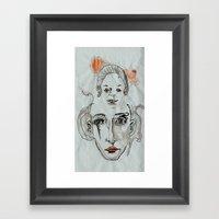 Memories Of Childhood Framed Art Print