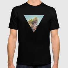 Palm SMALL Mens Fitted Tee Black