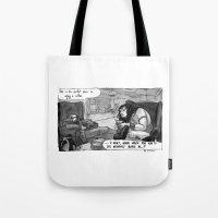 Cromic #8 - A Quiet, War… Tote Bag