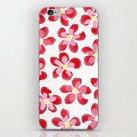 Posey Power - Red Multi iPhone & iPod Skin