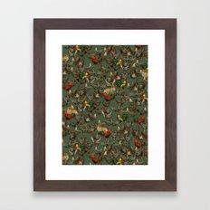 Kikiriki Framed Art Print