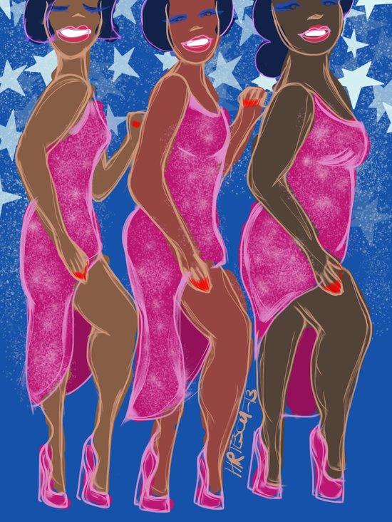 Young Americans Art Print