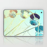 Blue Carousel Laptop & iPad Skin