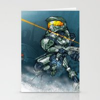 HALO / MASTER Ch Stationery Cards