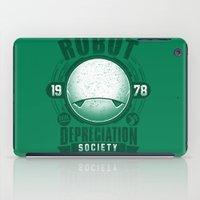 Robot Depreciation Society iPad Case