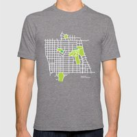 Manito Park, Spokane Mens Fitted Tee Tri-Grey SMALL