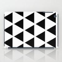 Sleyer Black On White Pa… iPad Case