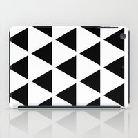Sleyer Black on White Pattern iPad Case