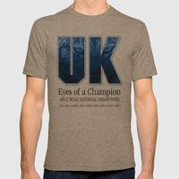 Eyes of a Champion Mens Fitted Tee Tri-Coffee SMALL