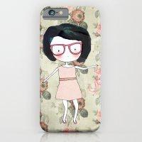 iPhone & iPod Case featuring Nerdy girl by munieca
