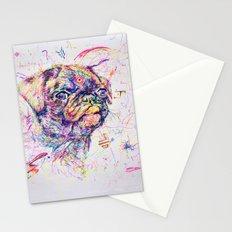 Pug Dog // Pugression Stationery Cards