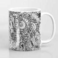 Black And White Zentangl… Mug