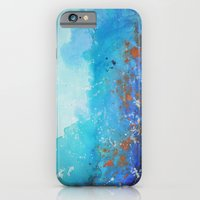 iPhone & iPod Case featuring Blue Suede Blues by Christine DeLong Creative Studio