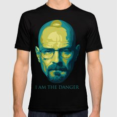 Breaking Bad Walter White Black SMALL Mens Fitted Tee