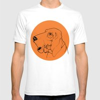 Canis Mens Fitted Tee White SMALL