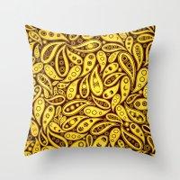 Seamless pattern Throw Pillow