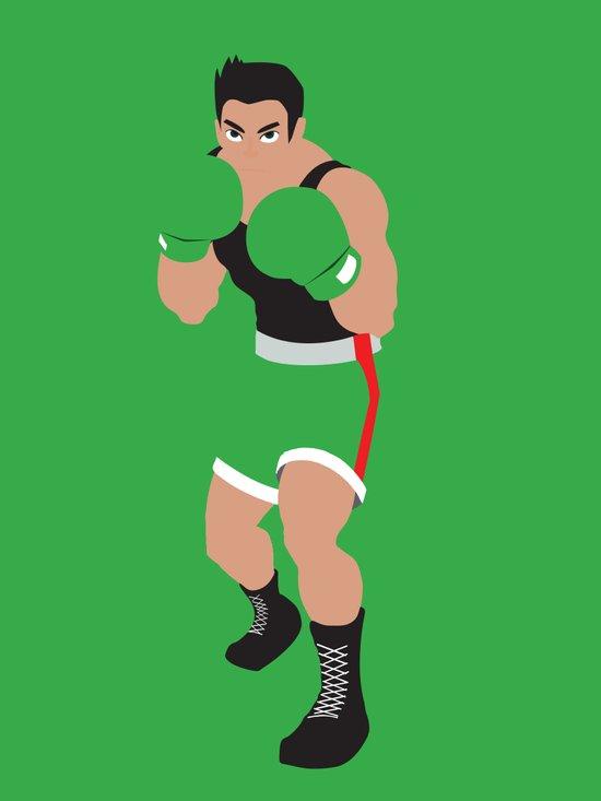 Little Mac - Minimalist - Mike Tyson's Punch Out Art Print