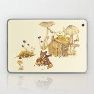 Laptop & iPad Skin featuring Harvey The Greedy Chipmu… by Teagan White