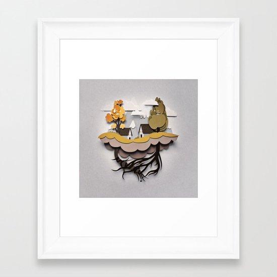 Buenos Vecinos - Good Neighbours Framed Art Print