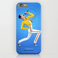 iPhone Cases featuring Freddie by Matias G. Martinez