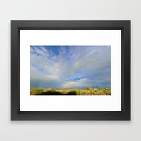 Oct 6, 2015 Rainbow Over… Framed Art Print
