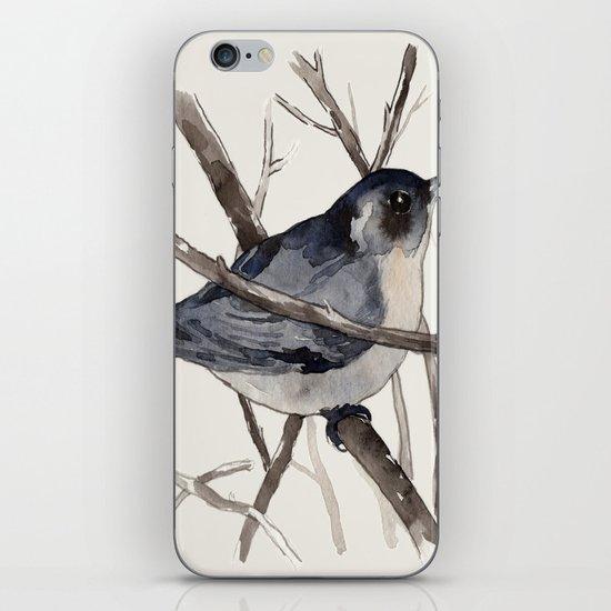Grey Birdy 2 iPhone & iPod Skin