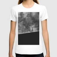 Espejismo Liberal Womens Fitted Tee White SMALL