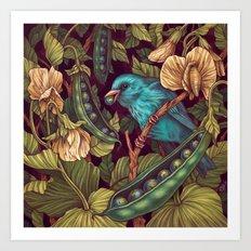World Peas Art Print