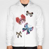 Floating Butterflies Hoody