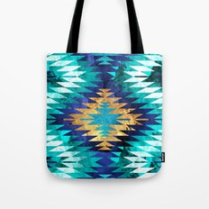 Inverted Navajo Suns Tote Bag