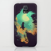 Galaxy S5 Cases featuring Leap of Faith by Budi Kwan