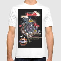 Romford. Mens Fitted Tee SMALL White